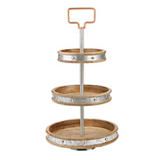 Mind Reader Metal 3 Tier Pastry
