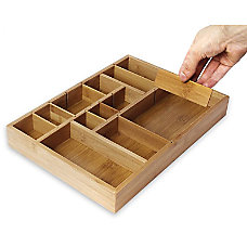 Juvale Kitchen Drawer Organizer With Removable