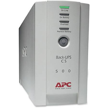 APC® Back-UPS, Small Office, 22-Minute Backup, 500VA/300 Watt