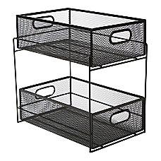 Mind Reader 2 Tier Storage Basket