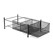 Mind Reader 3 Compartment Storage Basket