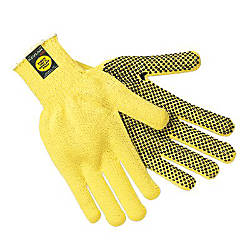 Memphis Glove Kevlar Gloves Large Yellow