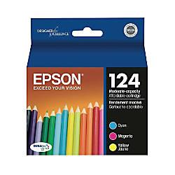 Epson 124 T124520 DuraBrite Ultra Tricolor