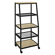 Ameriwood Home Brookspoint 5 Shelf BookcaseAudio