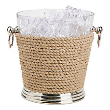 Mind Reader GlassRope Ice Bucket Brown