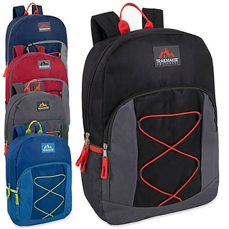 Trailmaker Bungee Backpack, Assorted Colors