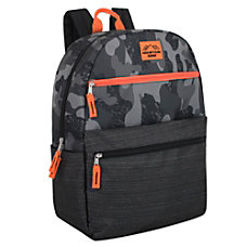 Trailmaker Camouflage Backpack GrayOrange