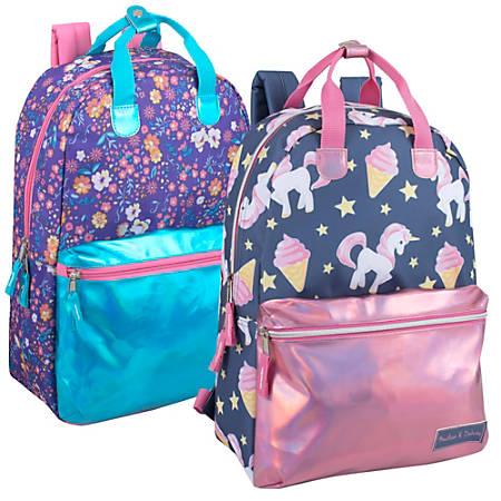 Trailmaker Laser Leather Backpack, Assorted Designs