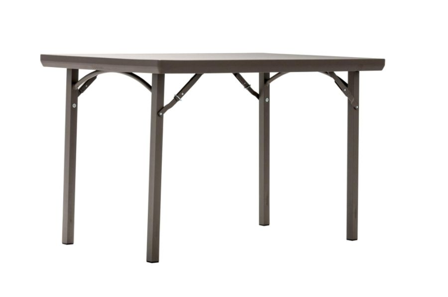 Cosco Folding Table Rectangle 30 H X 48 W Brown By Office Depot U0026 OfficeMax