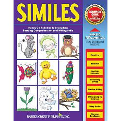 Barker Creek Grammar Activity Book Similes