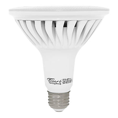 Euri LED Par38 LED Flood Bulbs, 1,550 Lumens, 20 Watt, 3,000 Kelvin/Soft White, Replaces 120 Watt Bulbs, Pack Of 2 Bulbs