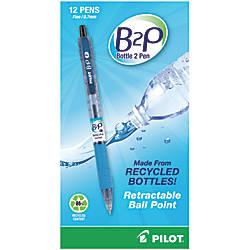 Pilot B2P Bottle To Pen Retractable
