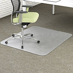 deflecto EnvironMat Recycled Chairmat Carpet 53