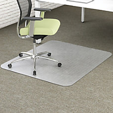 deflecto EnvironMat Recycled Chairmat Carpet 53