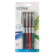 FORAY Marker Style Porous Point Pens