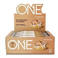 ONE Cinnamon Roll Protein Bars 212