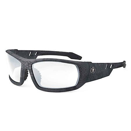 Ergodyne Skullerz Safety Glasses, Odin, Kryptek Typhon Frame Clear Lens