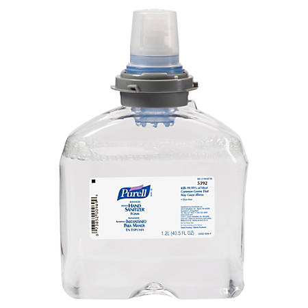 Purell® TFX™ Instant Hand Sanitizer Refill, 40.5 Oz (1200mL), Carton Of 2