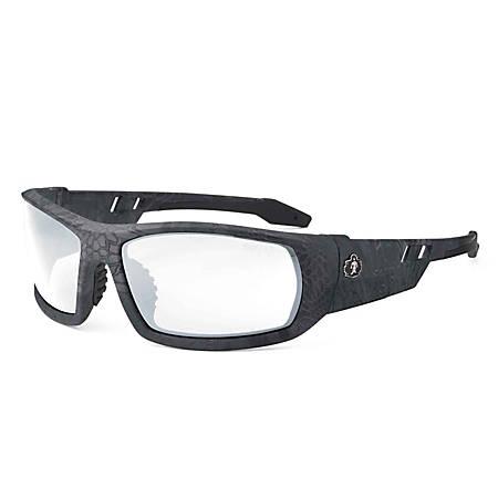 Ergodyne Skullerz Safety Glasses, Odin, Kryptek Typhon Frame Anti-Fog Clear Lens