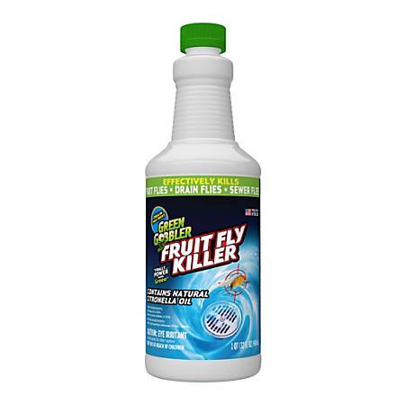 Green Gobbler Fruit Fly Killer, 32 Oz, Pack Of 3 Bottles