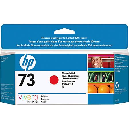 HP 73 Original Ink Cartridge - Single Pack - Inkjet - Red - 1 Each
