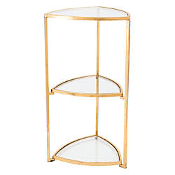 Zuo Modern Corner Tri Level Table