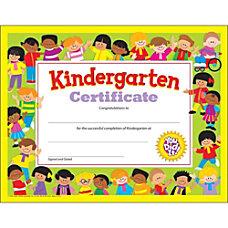 Trend Kindergarten Certificates 850 x 11