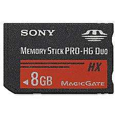 Sony 8 GB Memory Stick PRO