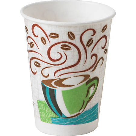 PerfecTouch Dixie Coffee Haze Hot Cups - 8 fl oz - 1000 / Carton - Coffee Haze - Paper, Cellulose Fiber - Hot Drink