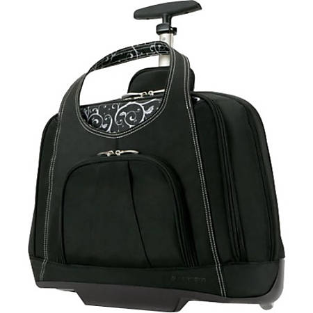 "Kensington Contour Balance Series Laptop Case For 15.4"" Laptop, Black"