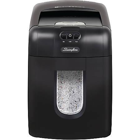 Swingline® GBC® Stack-And-Shred™ 130-Sheet Micro-Cut Shredder