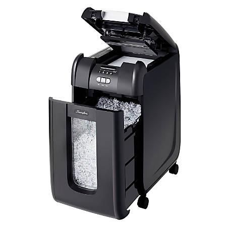 Swingline® GBC® Stack-and-Shred™ 300M 300 Sheet Micro-Cut Shredder SWI1758576