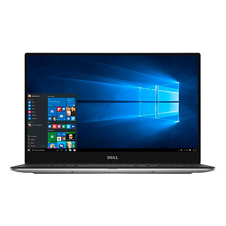 """Dell™ XPS 13 Laptop, 13.3"""" Touch Screen, Intel® Core™ i7, 8GB Memory, 256GB Solid State Drive, Windows® 10"""