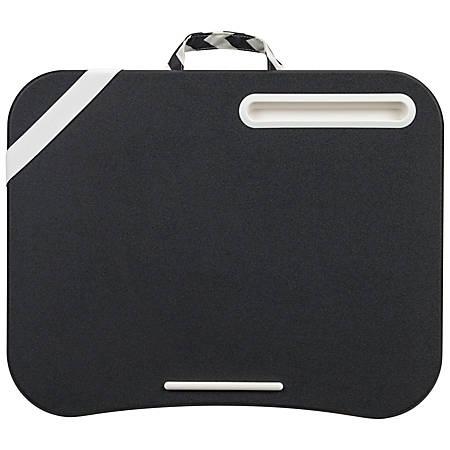 "LapGear Designer Lap Desk, 17-3/4"" x 13-3/4"", Black Diamond"