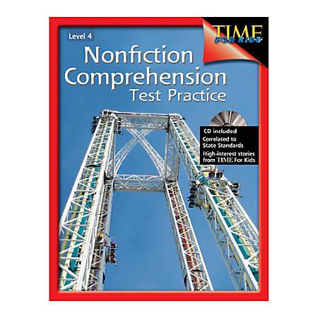 Shell Education Nonfiction Comprehension Test Practice, Grade 4