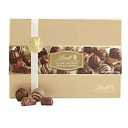 Lindt Chocolate Caramel And Nut Assortment