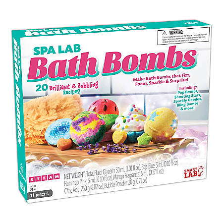 SmartLab Toys QPG Science Labs For Kids, Spa Lab Bath Bombs