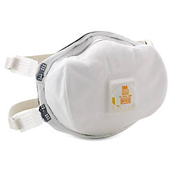 3M Disposable N100 Particulate Respirator Lightweight