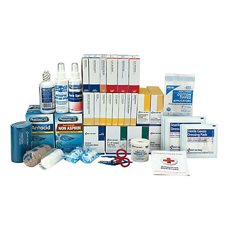 First Aid Only 90575 3-Shelf First Aid Kit Refill, 675 Pieces