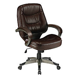 Lorell Westlake Series Managerial Mid Back