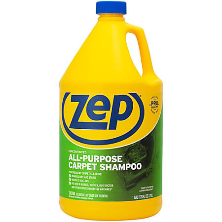 Zep Concentrated Carpet Extractor Shampoo, 125 Oz