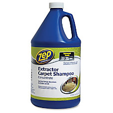 Zep Concentrated Carpet Extractor Shampoo 125
