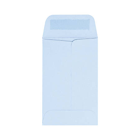 "LUX Coin Envelopes, #1, 2 1/4"" x 3 1/2"", Baby Blue, Pack Of 1,000"