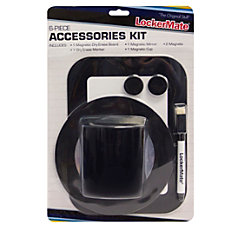 LockerMate Locker Accessory Kit Black