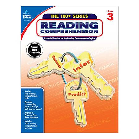 Carson-Dellosa™ 100+ Series™ Reading Comprehension Workbooks, Grade 3
