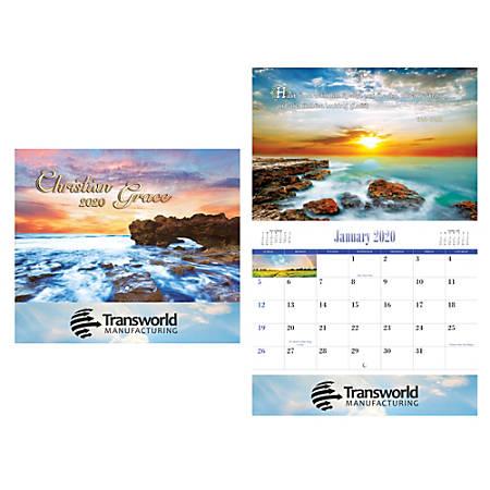 Christian Reflections Wall Calendar, Stitch