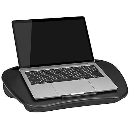 """LapGear MyDesk Lap Desk, 13""""H x 17.9""""W x 2.6""""D, Black"""