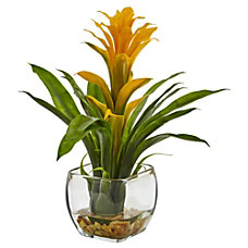 Nearly Natural 12 H Bromeliad Arrangement