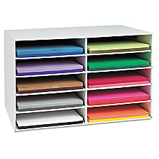Pacon Construction Paper Storage Unit 3