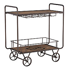 Powell Home Fashions Lainey Bar Cart